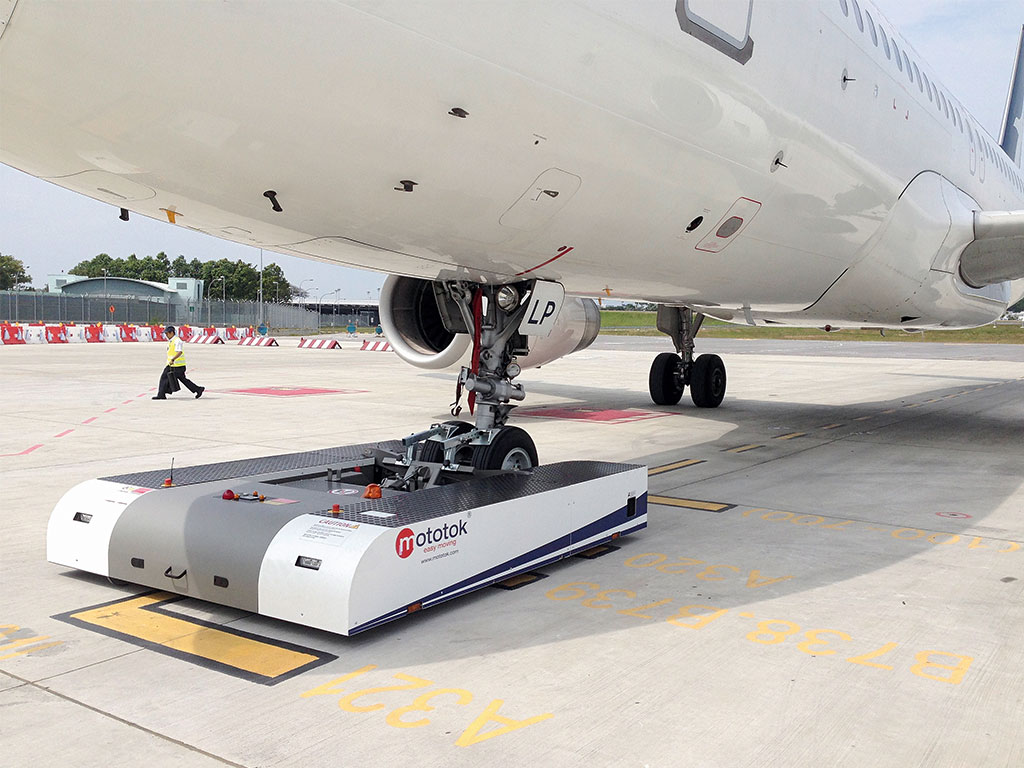 infinite possibilities with mototok s electric pushback tug spacer
