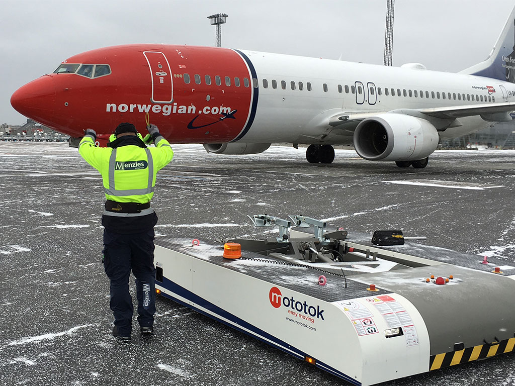 pushback tugs 2 0 electric aircraft tug spacer by mototok