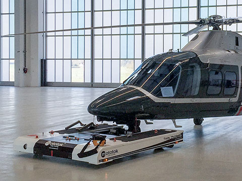 TWIN is also suitable for almost all helicopters on wheels