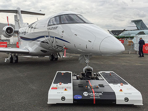 TWIN in daily use with a Pilatus