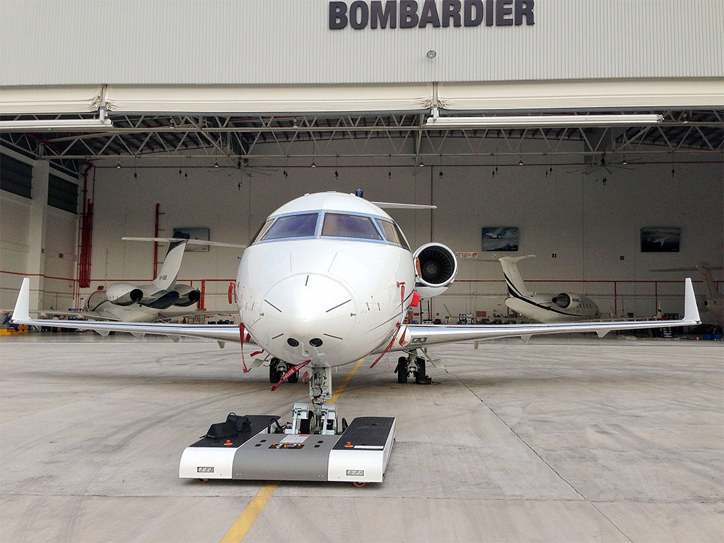 TWIN in daily use at Bombardier Hangar