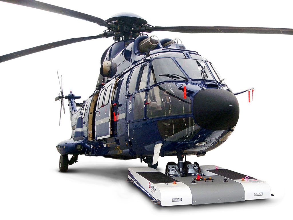 Also for Helicopters: TWIN moves an Eurocopter AS 332