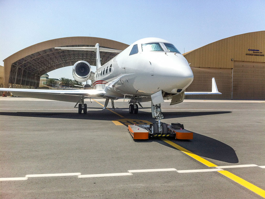 TWIN Flat with a Gulfstream G450