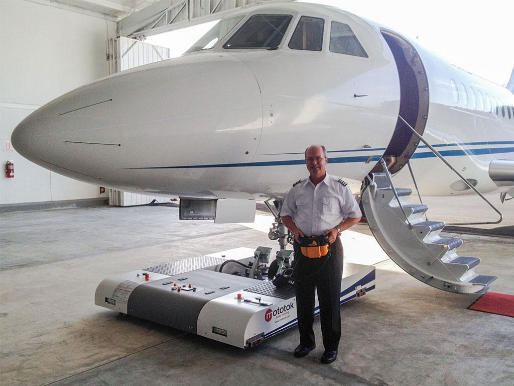 Mototok TWIN with a Gulfstream