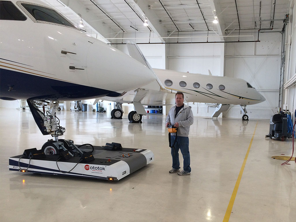 Flexible use for maximize hangars space