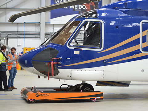 TWIN moves a Sikorsky S92