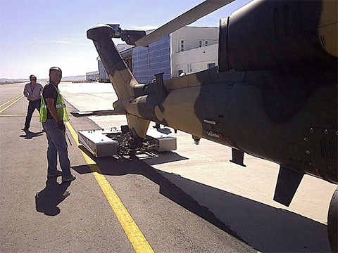 M-Series with a Boein Apache