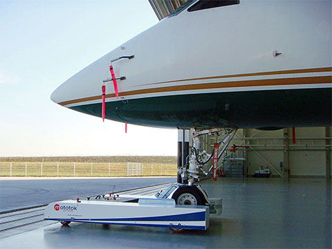 TWIN tows a Gulfstream G5