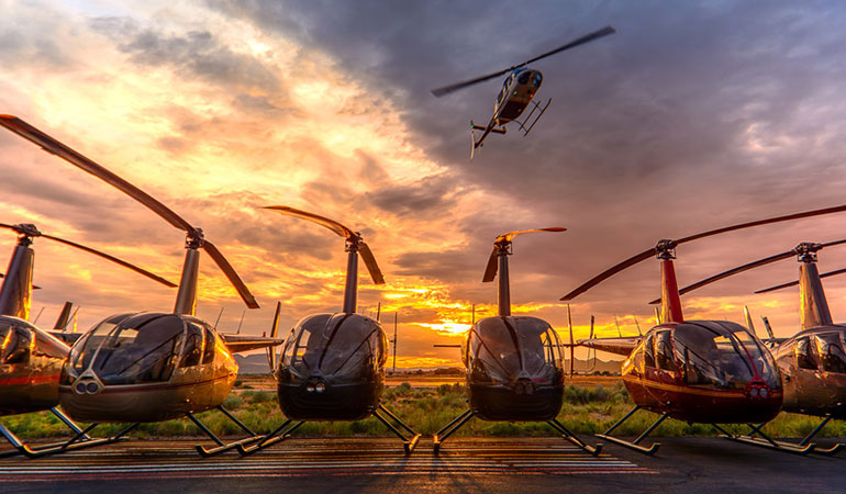 GROUND HANDLING OF HELICOPTERS